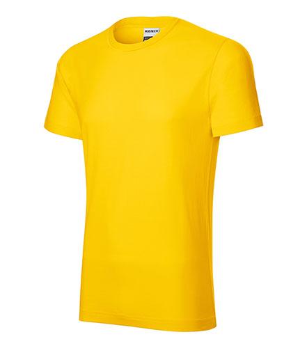 Resist heavy tričko pánské žlutá