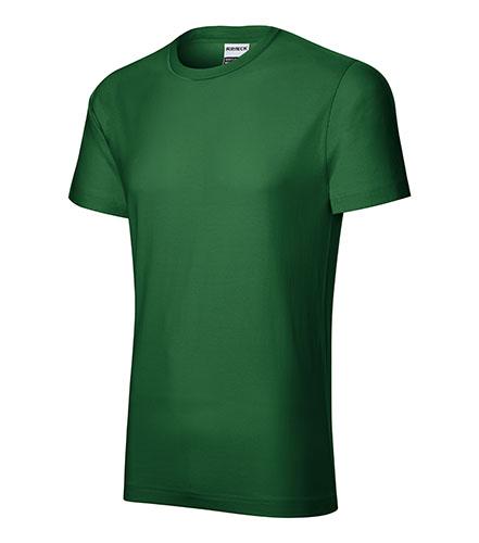 Resist heavy tričko pánské lahvově zelená