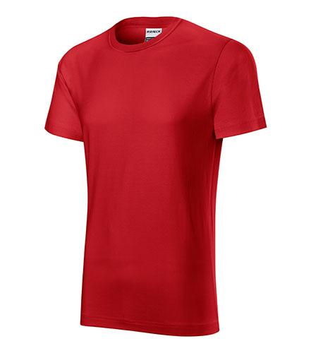 Resist heavy tričko pánské červená