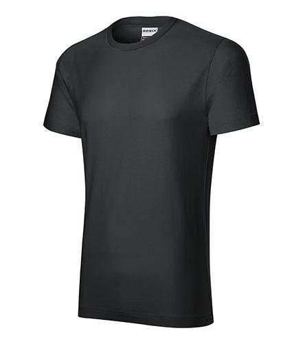 Resist heavy tričko pánské ebony gray