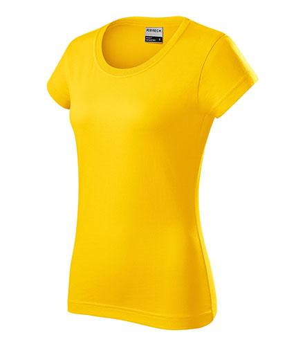 Resist heavy tričko dámské žlutá