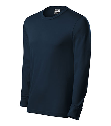 Resist LS triko unisex námořní modrá