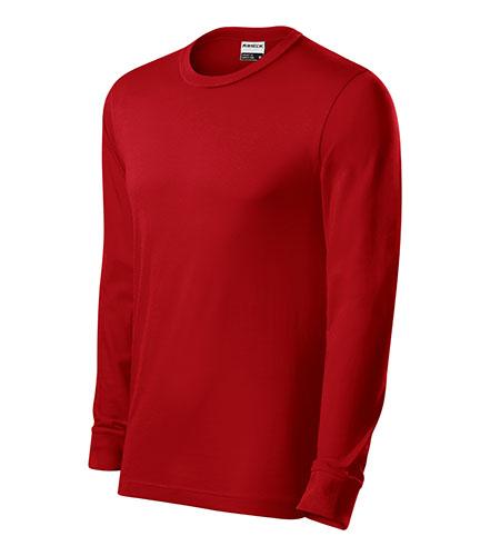 Resist LS triko unisex červená