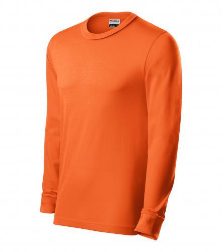 Resist LS triko unisex oranžová