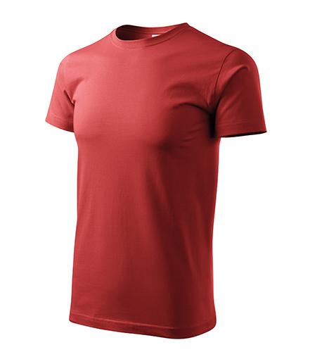 Basic tričko pánské bordó