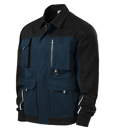 Woody pracovní bunda pánská námořní modrá