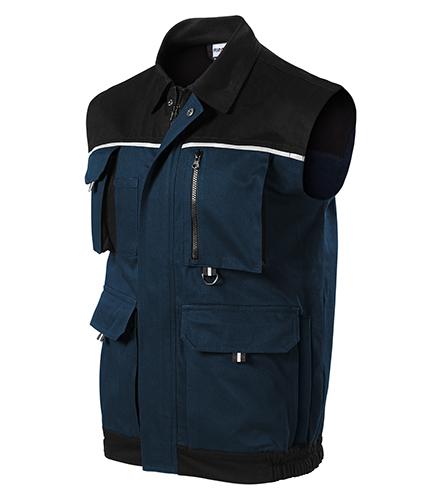 Woody pracovní vesta pánská námořní modrá