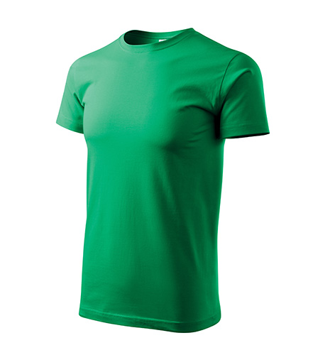 Basic tričko pánské středně zelená