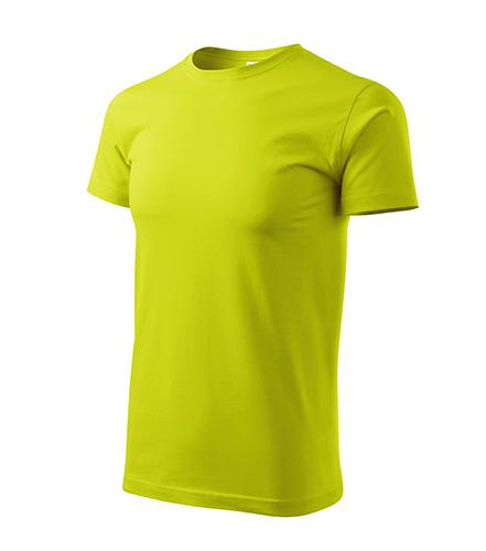 Basic tričko pánské limetková