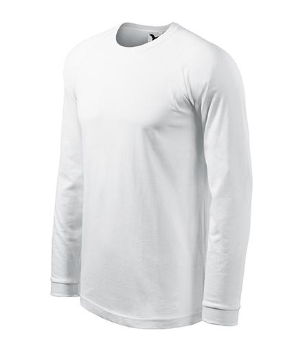 Street LS triko pánské bílá
