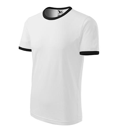 Infinity tričko unisex bílá