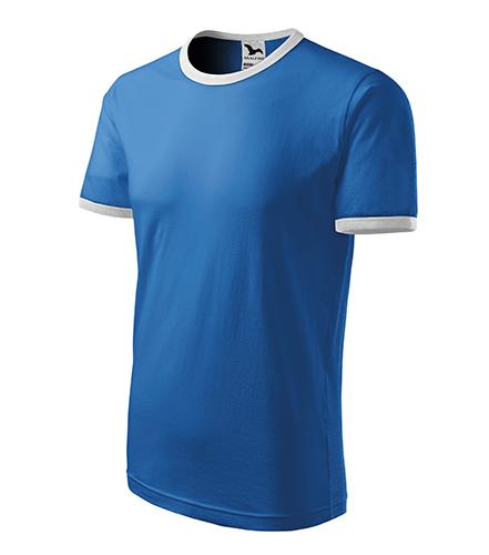 Infinity tričko unisex azurově modrá