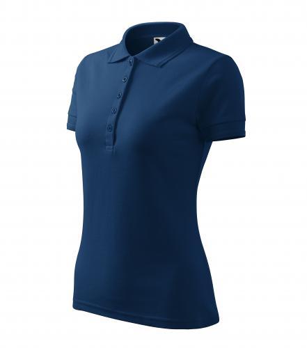 Pique Polo polokošile dámská půlnoční modrá