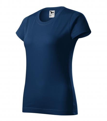 Basic tričko dámské půlnoční modrá