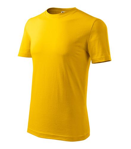 Classic New tričko pánské žlutá