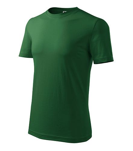 Classic New tričko pánské lahvově zelená