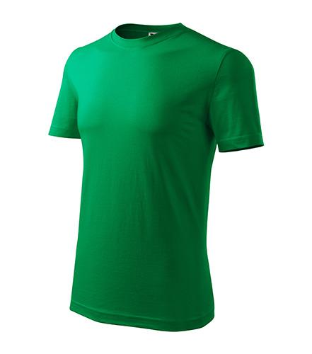 Classic New tričko pánské středně zelená