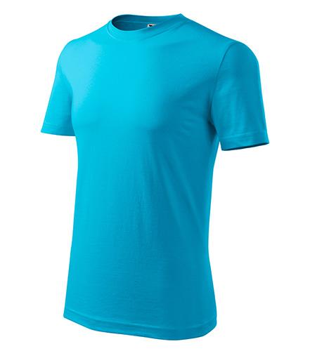 Classic New tričko pánské tyrkysová