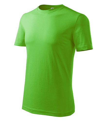 Classic New tričko pánské apple green