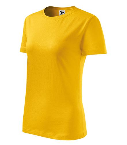 Classic New tričko dámské žlutá