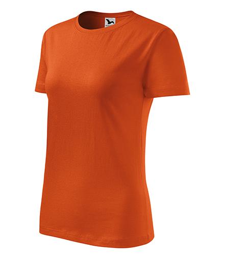 Classic New tričko dámské oranžová