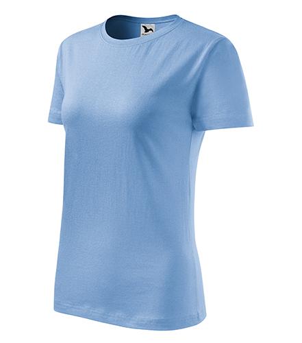 Classic New tričko dámské nebesky modrá