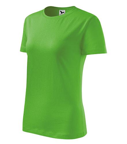 Classic New tričko dámské apple green
