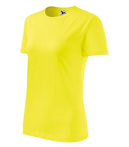 Classic New tričko dámské citronová