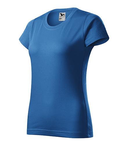 Basic tričko dámské azurově modrá
