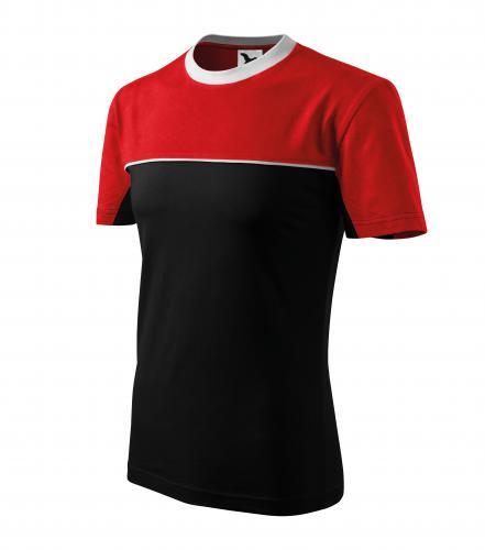 Colormix tričko unisex černá