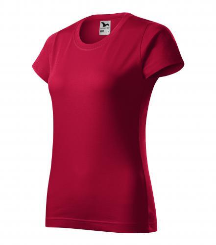 Basic tričko dámské marlboro červená