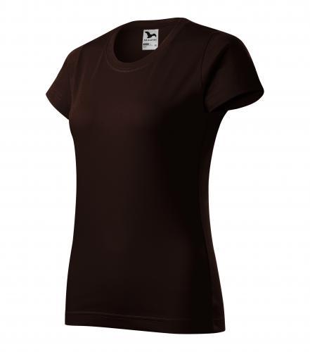 Basic tričko dámské kávová