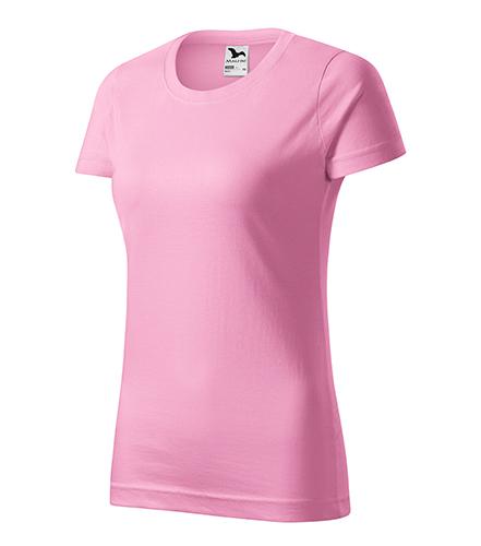 Basic tričko dámské růžová