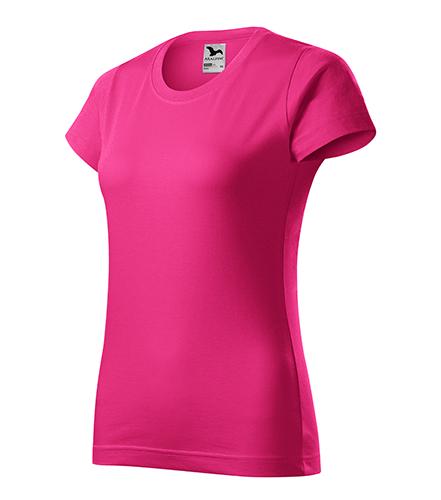 Basic tričko dámské purpurová