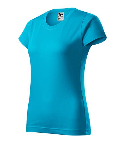Basic tričko dámské tyrkysová