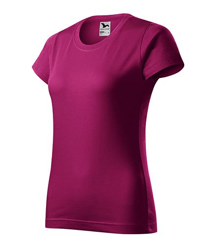 Basic tričko dámské fuchsia red