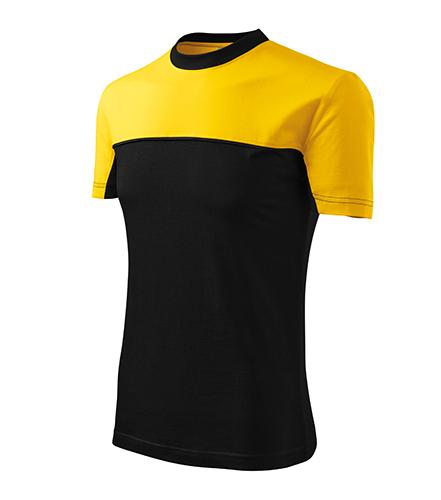 Colormix tričko unisex žlutá