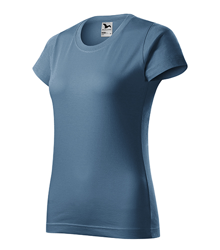Basic tričko dámské denim