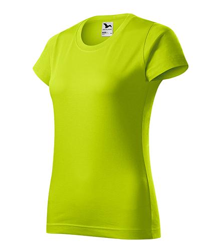 Basic tričko dámské limetková