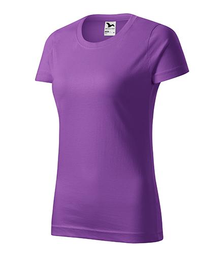 Basic tričko dámské fialová