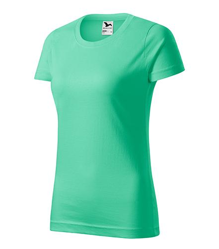 Basic tričko dámské mátová