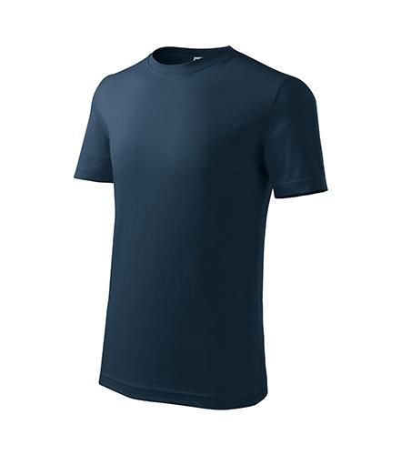 Classic New tričko dětské námořní modrá