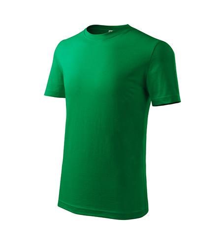 Classic New tričko dětské středně zelená