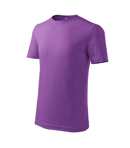 Classic New tričko dětské fialová