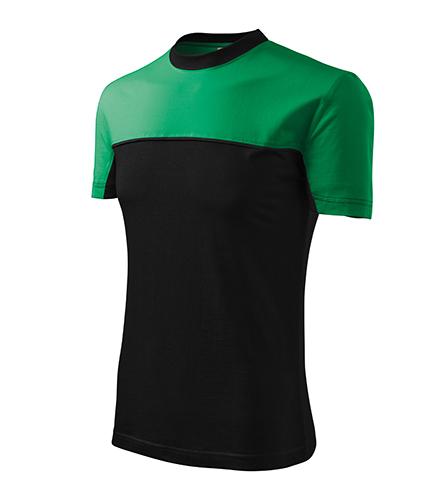 Colormix tričko unisex středně zelená