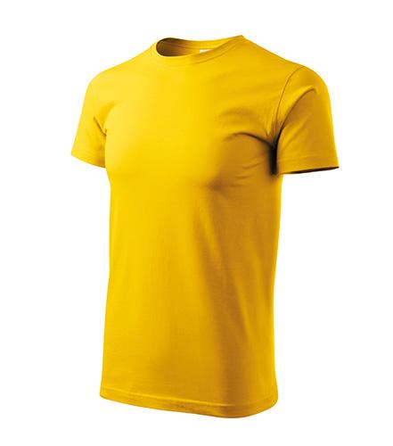 Heavy New tričko unisex žlutá