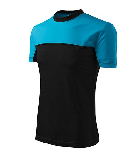 Colormix tričko unisex tyrkysová