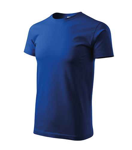 Heavy New tričko unisex královská modrá