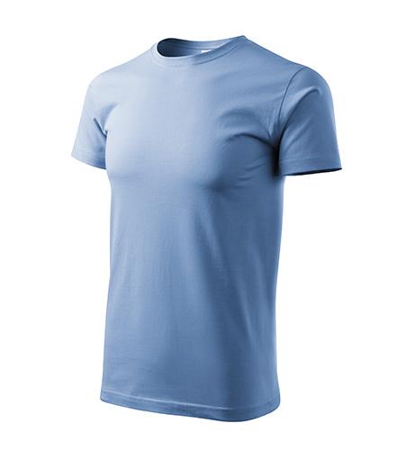 Heavy New tričko unisex nebesky modrá