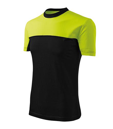 Colormix tričko unisex limetková